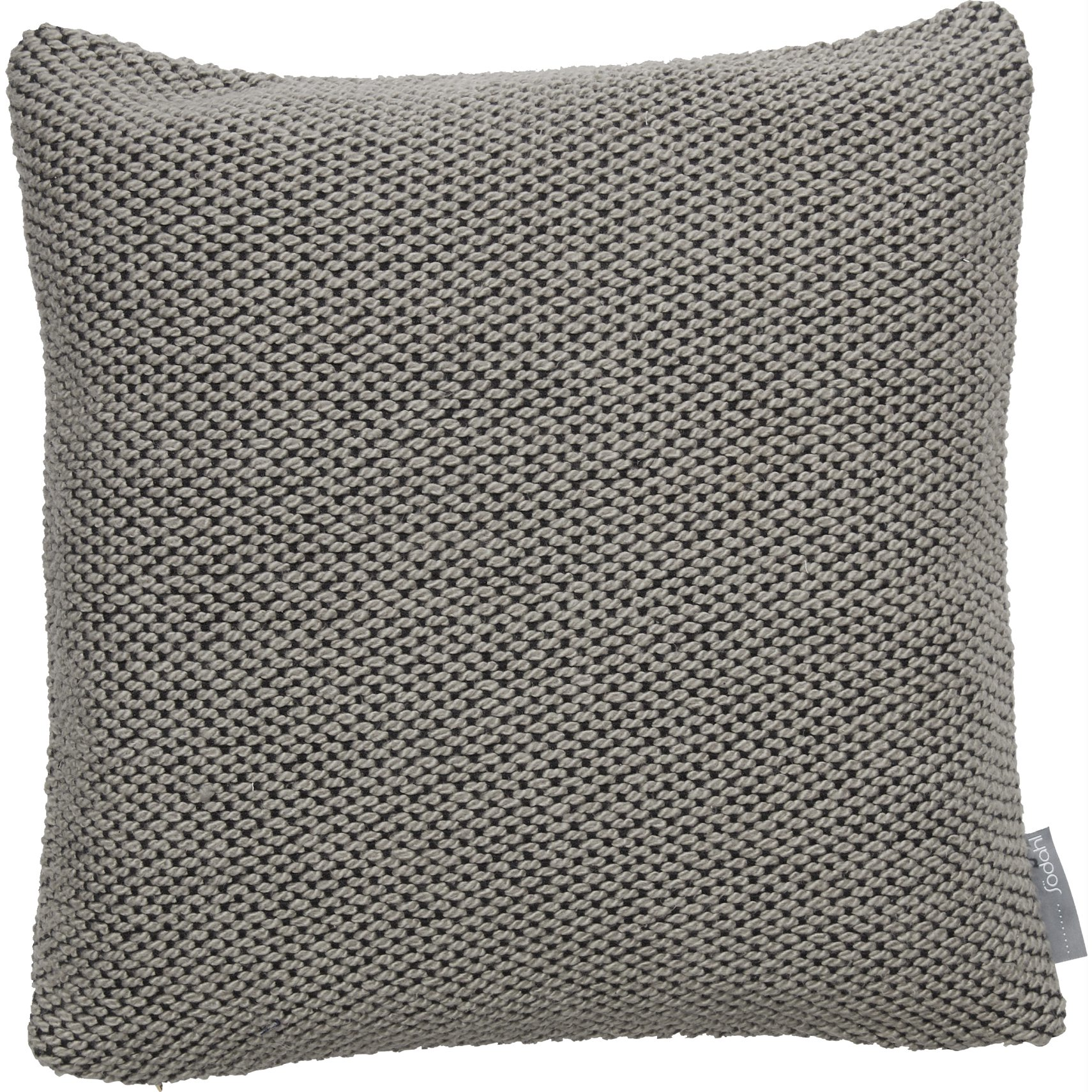 Södahl Basic knit Pude - Drizzle bomuld/akryl