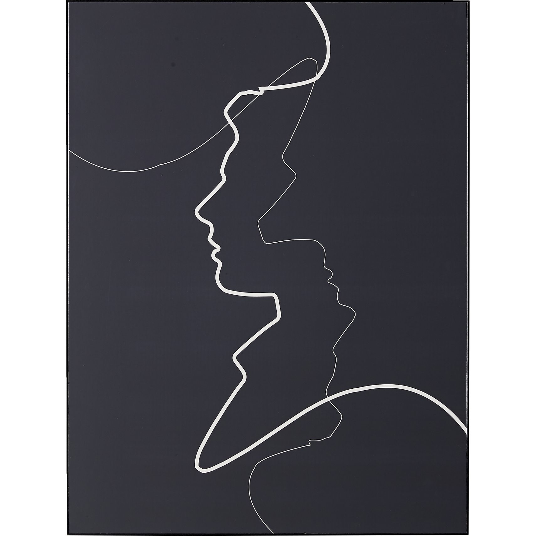 Together Male Plakat 60 x 80 x 7 cm - Blank