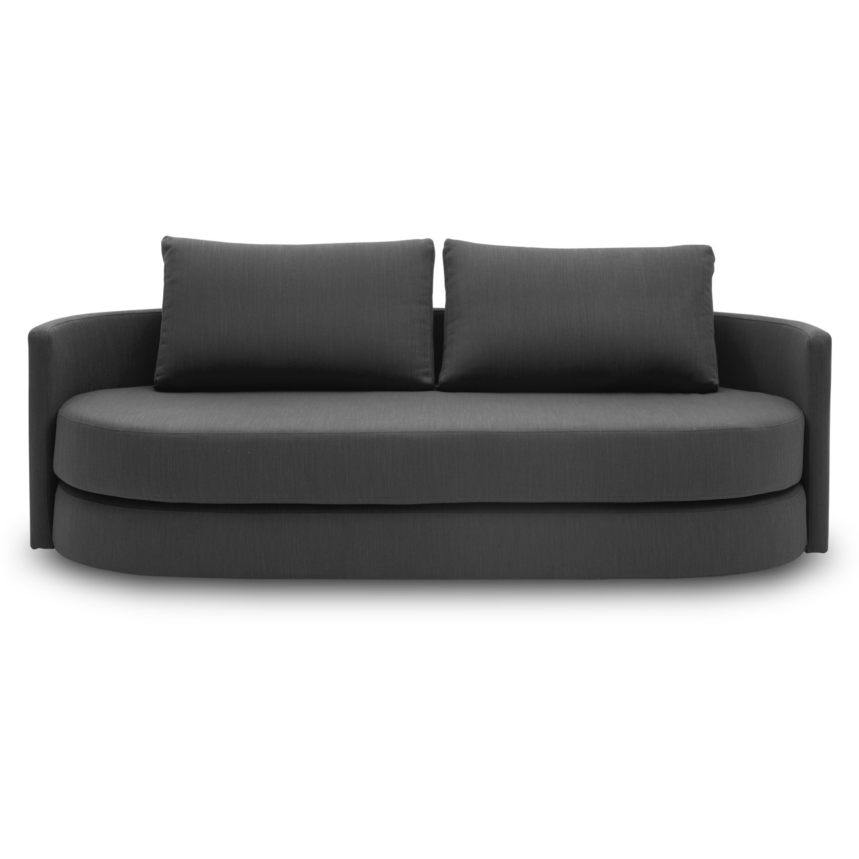 Vile Sovesofa - Elegance 509 Anthracite Grey stof og pocketspring madras