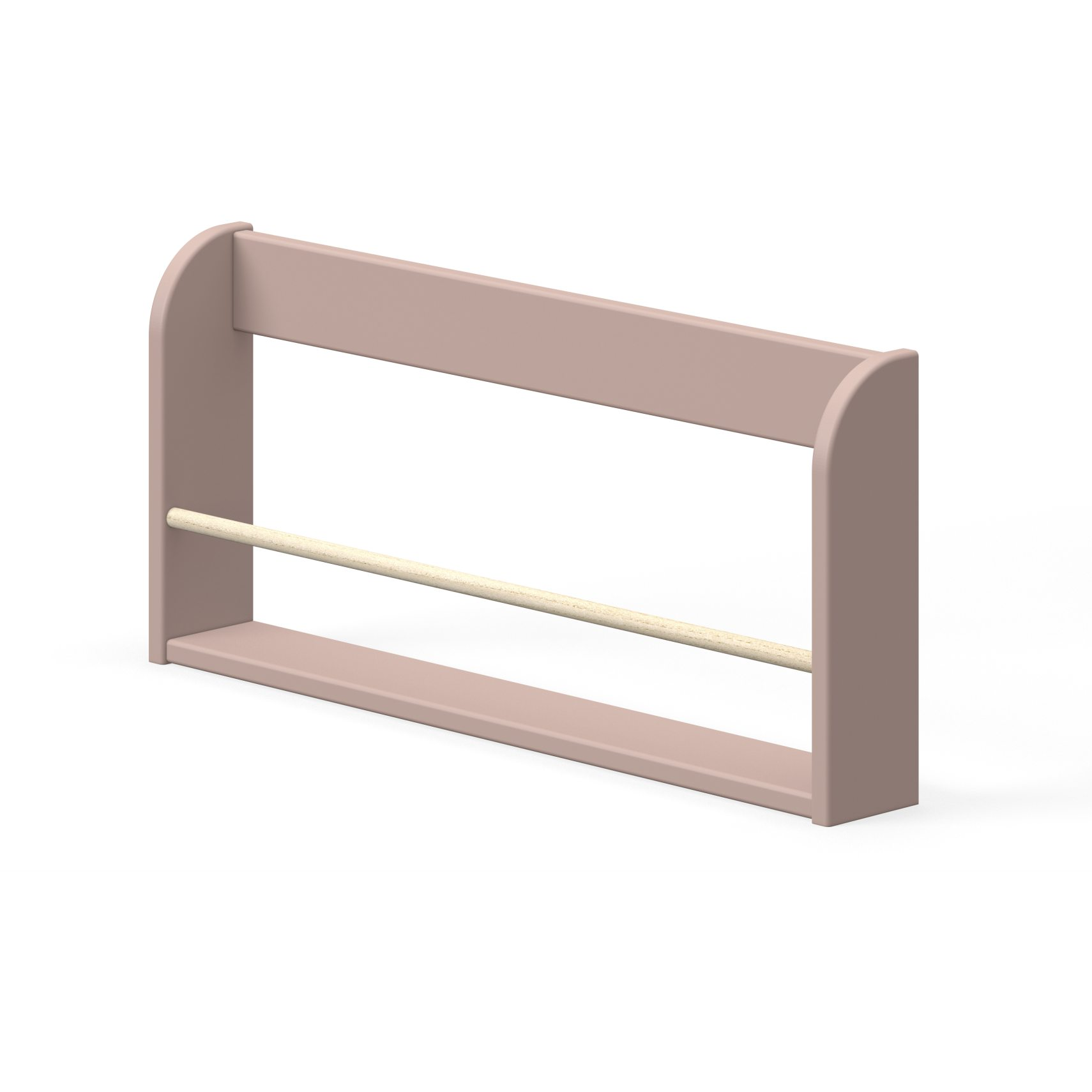 Flexa Play Boghylde - Light Rose MDF