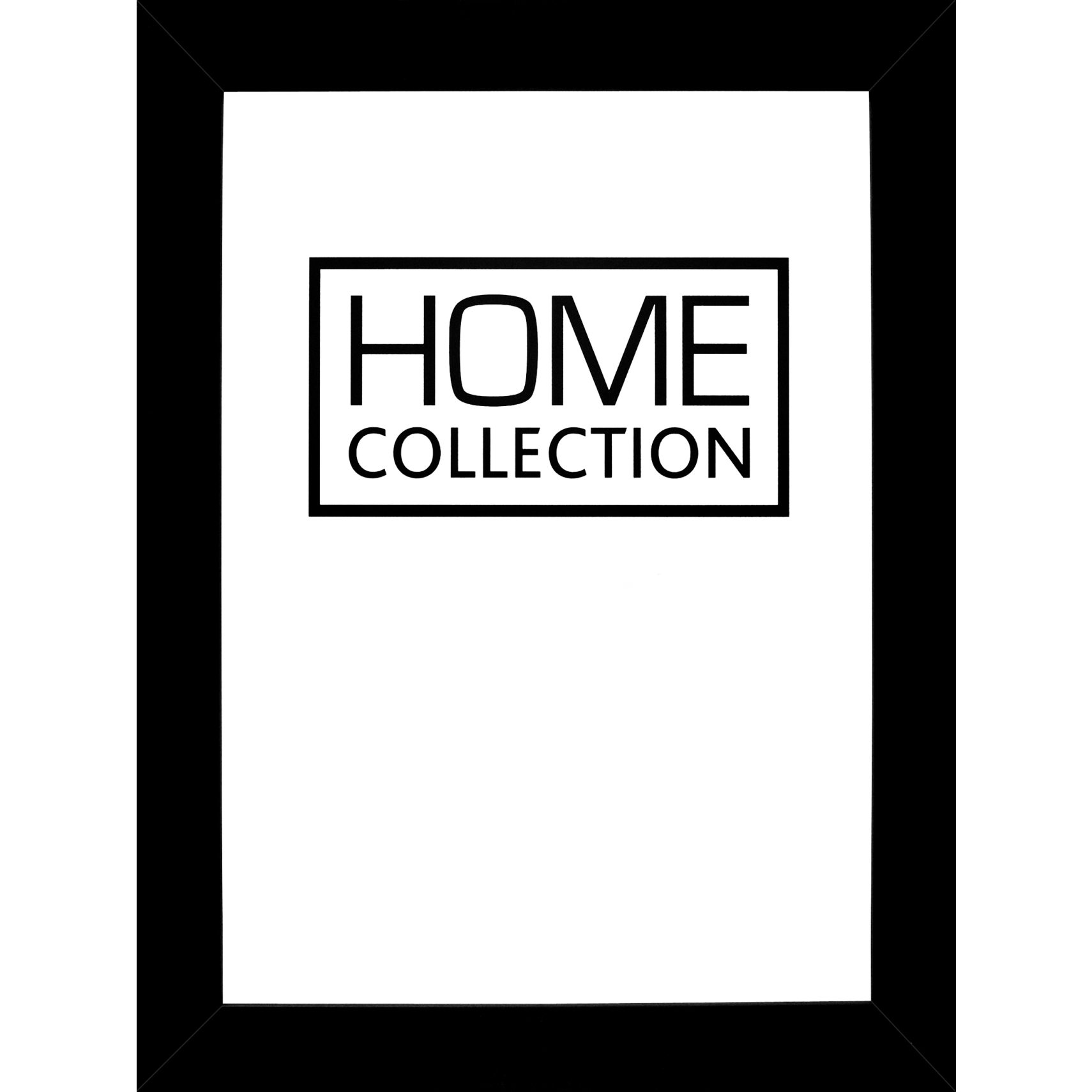 HOME COLLECTION Ramme 21 x 30 x 1 cm - Sort træramme