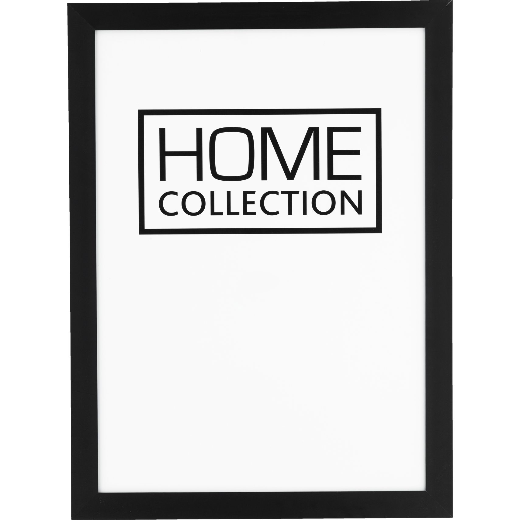 HOME COLLECTION Ramme 50 x 70 x 2 cm - Sort træramme