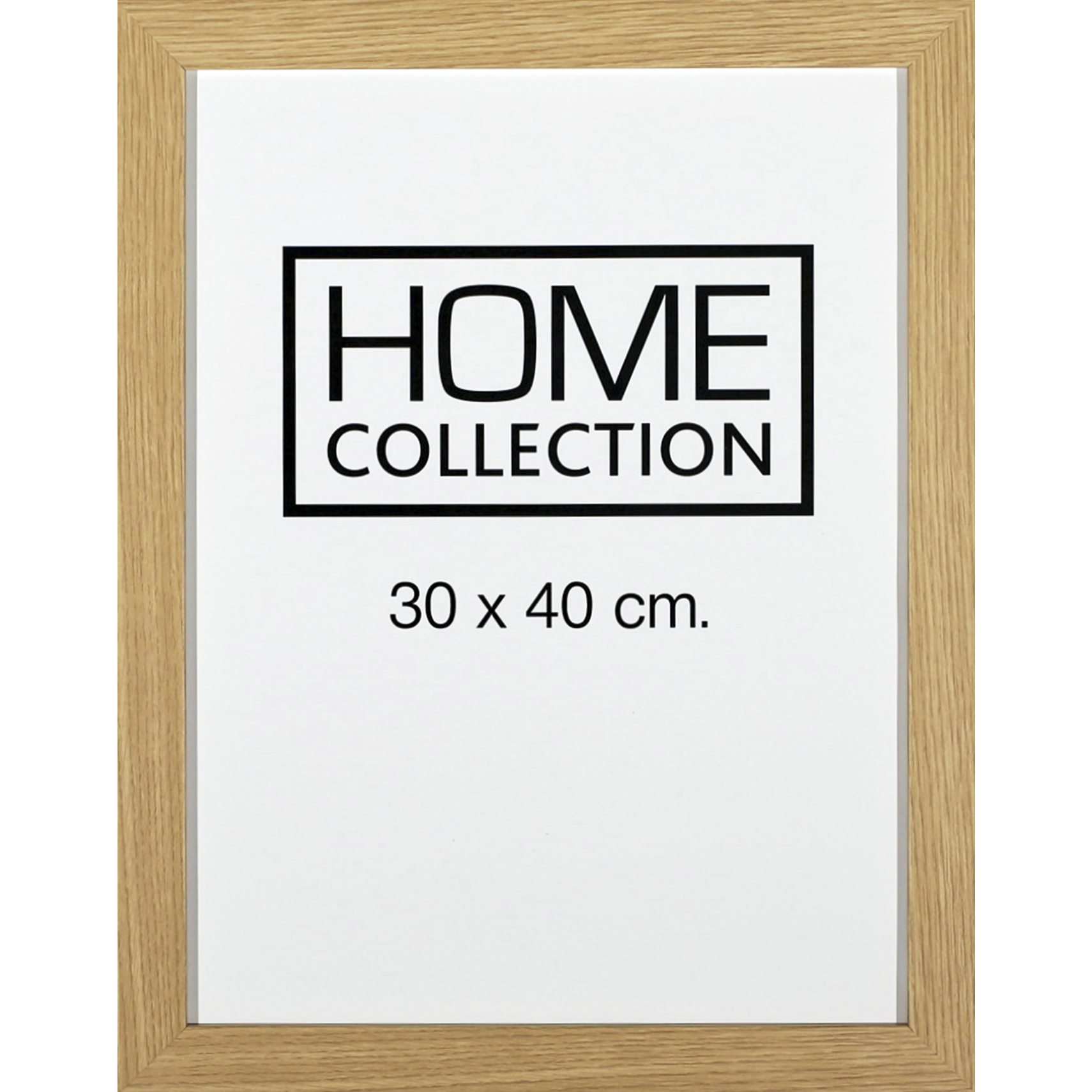 HOME COLLECTION Ramme 30 x 40 x 2 cm - Egetræ ramme