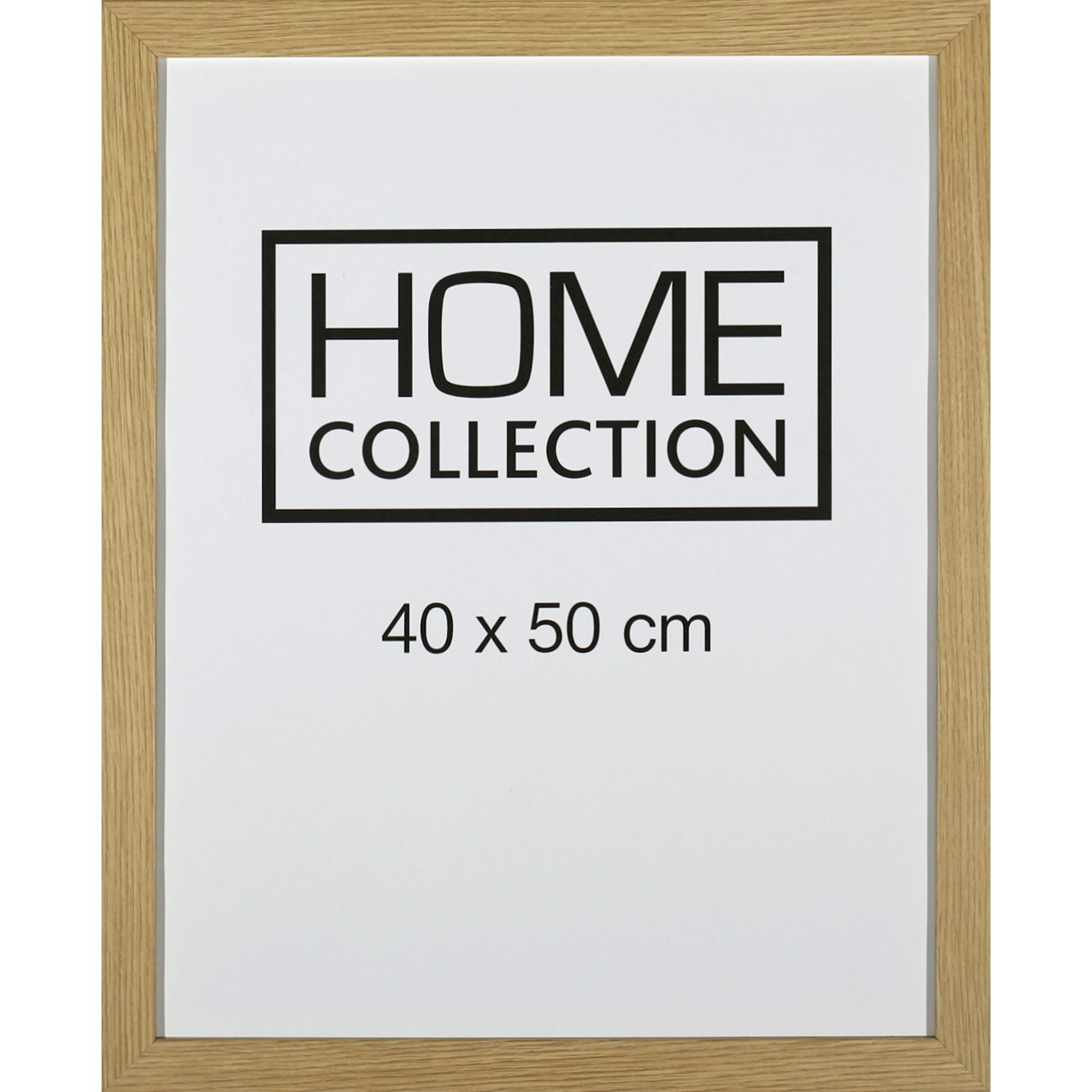 HOME COLLECTION Ramme 40 x 50 x 2 cm - Egetræ ramme