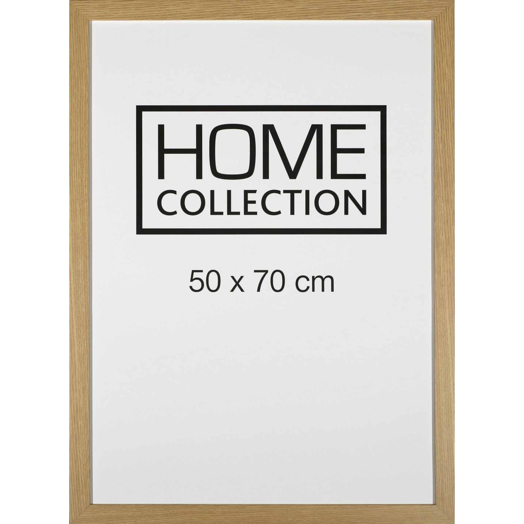 HOME COLLECTION Ramme 50 x 70 x 2 cm - Egetræ ramme